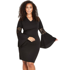 Bells and Lace Plus Size Dress - Best YOU by HTS