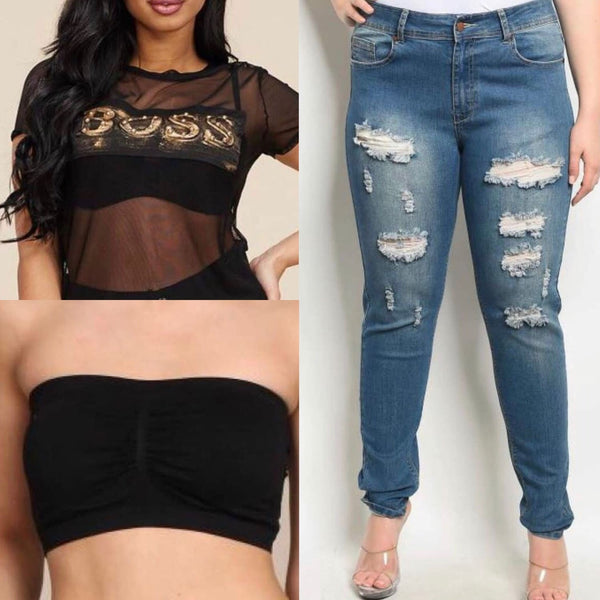 Boss and Jeans Bundle Size 14/16 - Best YOU by HTS
