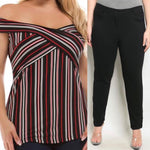 Black Stripes Bundle Size 16/18 - Best YOU by HTS