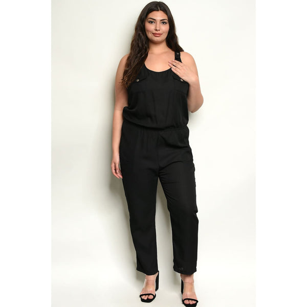 Black Street Style Plus Jumpsuit - Best YOU by HTS