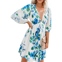 Blue Hawaiian Resort Dress - Best YOU by HTS