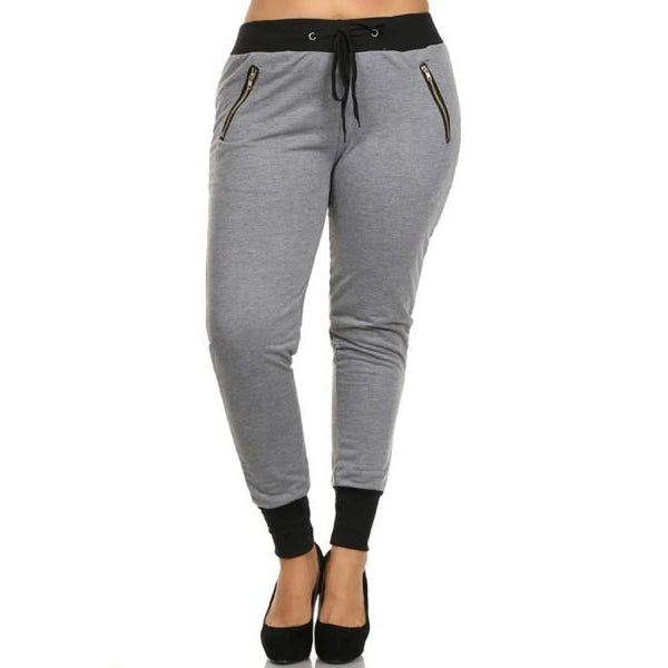Color Block Joggers - Gray - Best YOU by HTS