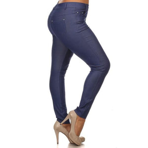 Denim Blue Jeggings - Plus - Best YOU by HTS