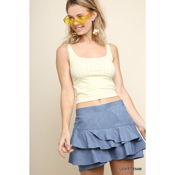 Denim Skort - Best YOU by HTS