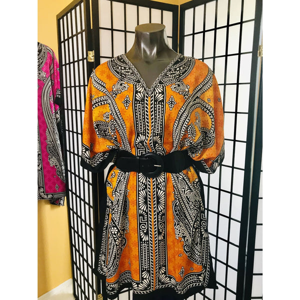 Ethnic Caftan Top - TOPS