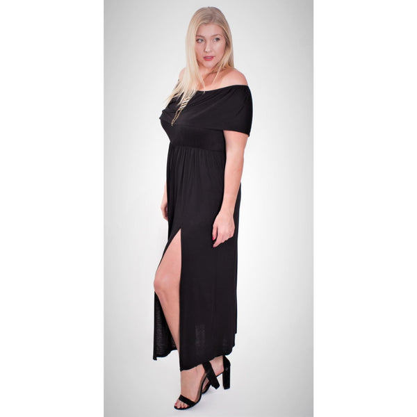 Extra Plus Off Shoulder Maxi - DRESSES