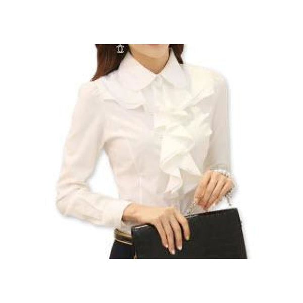 Fancy Ruffle Blouse 6/8 - Best YOU by HTS