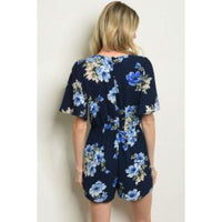 Floral Navy Romper - Best YOU by HTS