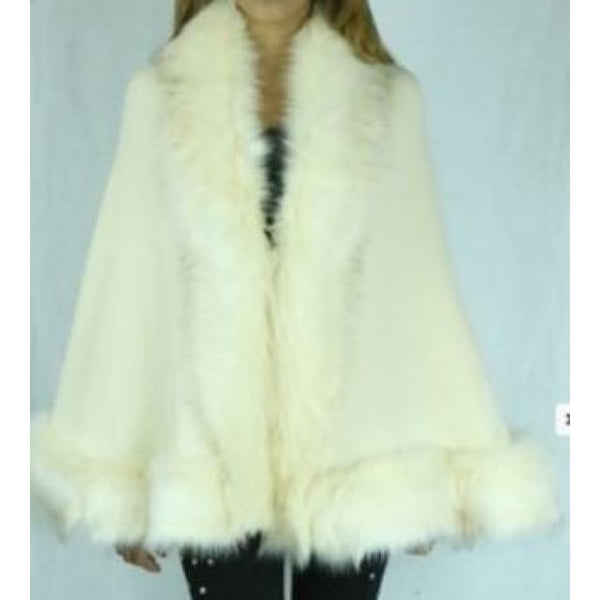 Fur Wrap White - Petite - Best YOU by HTS