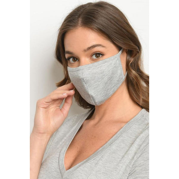 Heather Grey Mask - Accessories