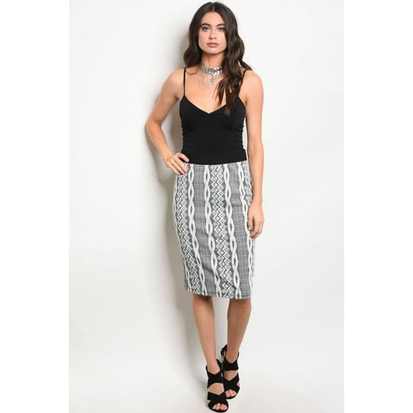 High Waist Rope Skirt - Best YOU by HTS