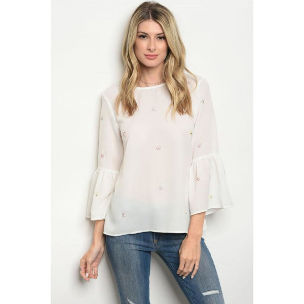 Ivory Design Top - Best YOU by HTS
