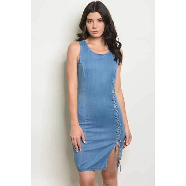 Light Blue Denim Dress - Best YOU by HTS