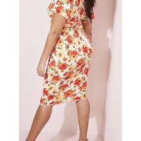 Midi Floral Skirt - Best YOU by HTS