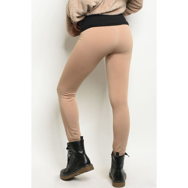 Mocha One Size Regular Leggings - Best YOU by HTS