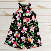 MOMMY&ME Black Floral Dress - Best YOU by HTS