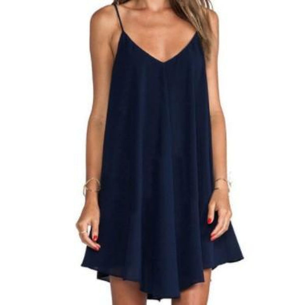 Navy Plus Flare Dress 22/24 - Best YOU by HTS