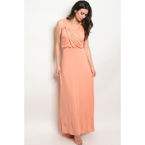 Peach Maxi Dress - Best YOU by HTS