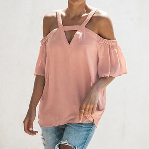 Pink Cold-Shoulder Top - Best YOU by HTS