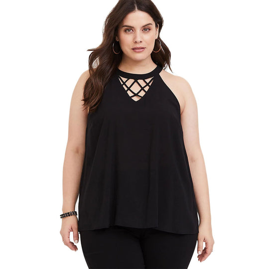 Plus Size Goddess Top - Black - Best YOU by HTS