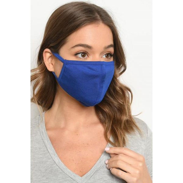 Royal Blue Mask - Accessories