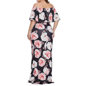 Sky Bloom Plus Maxi Dress - Best YOU by HTS