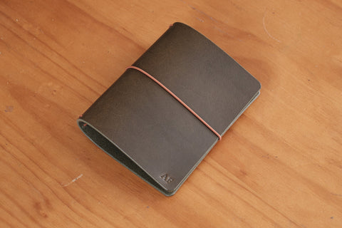 All Sizes - Olive Drab Buttero Leather Traveler's Notebook Cover (No inserts included)
