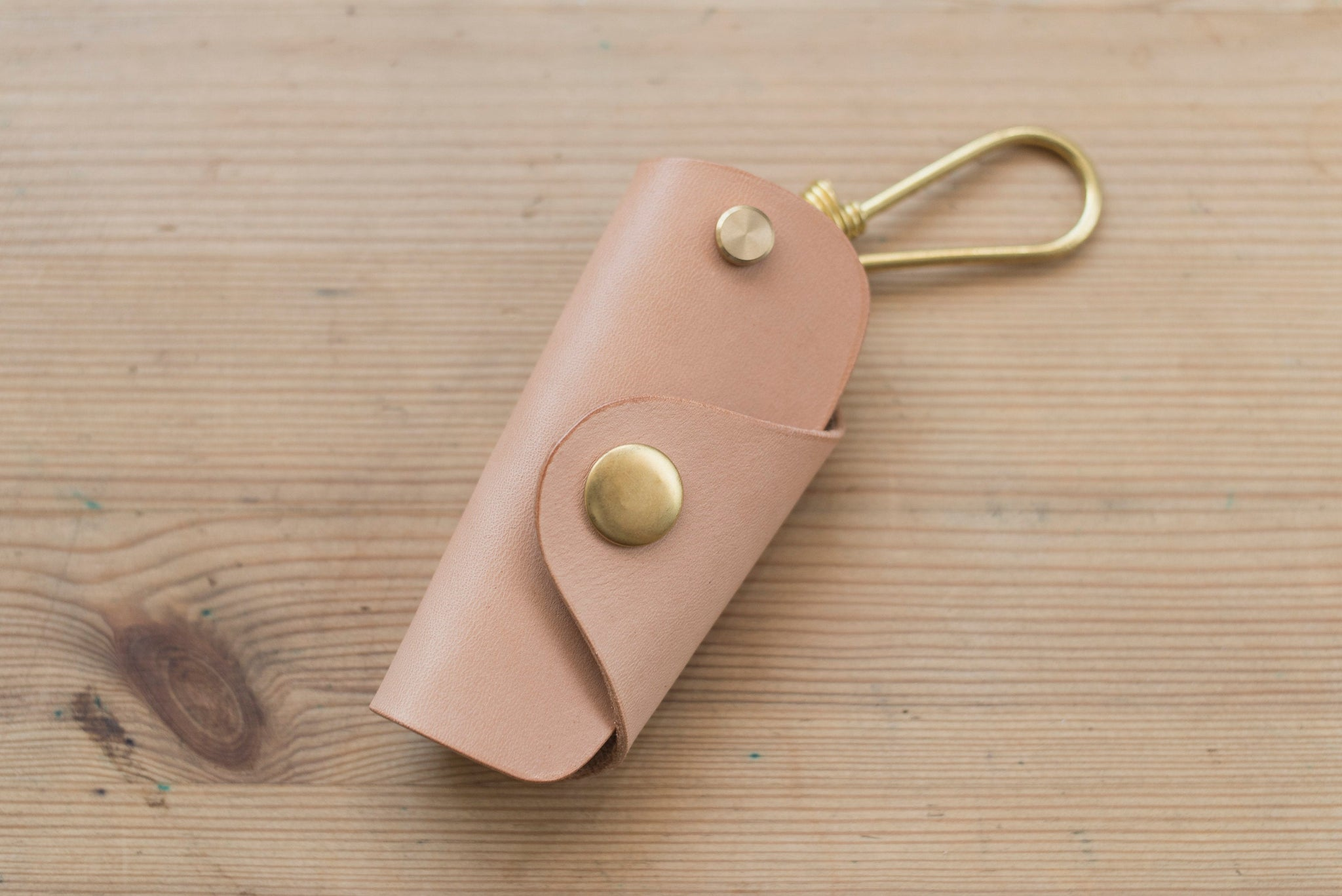 Natural Leather Key Case