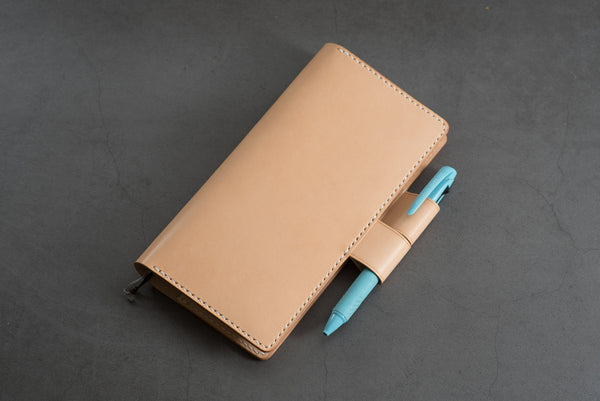 Natural Hobonichi Weeks (Mega) Leather Cover