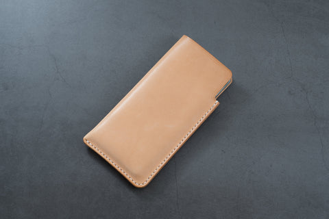 Natural Hermann Oak Leather Samsung Galaxy Sleeve