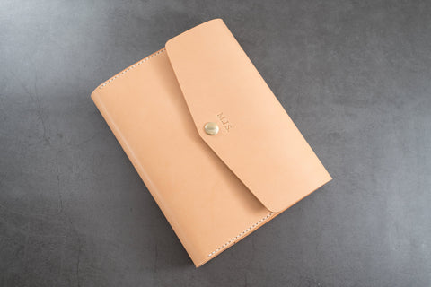 A5/Hobonichi Cousin/Seven Seas Leather Trifold Notebook Cover