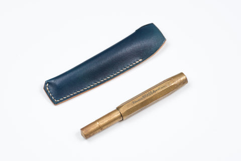 Blue Leather Kaweco Sport Pen Sleeve