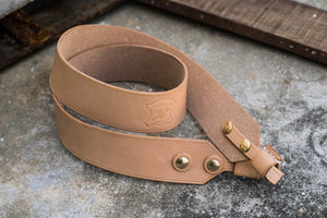 Natural Hermann Oak Camera Strap (Fixed length)