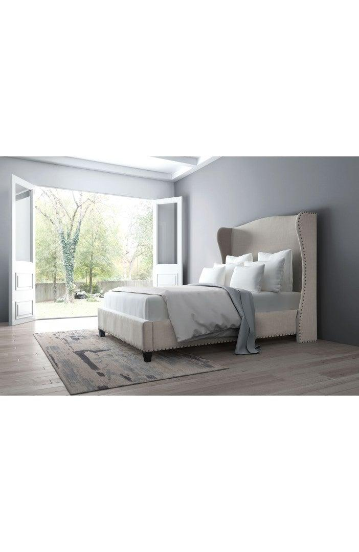 Enlightenment Queen Bed - Beige