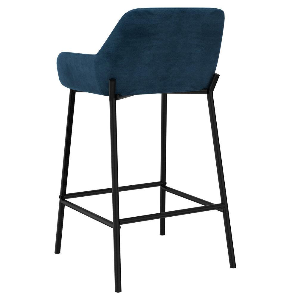Baily Blue Counter Stool, Set Of 2