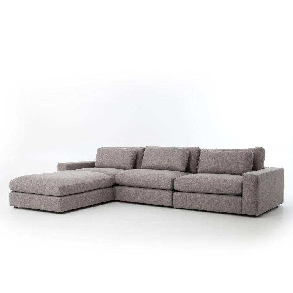 Bloor Sectional - Chess Pewter