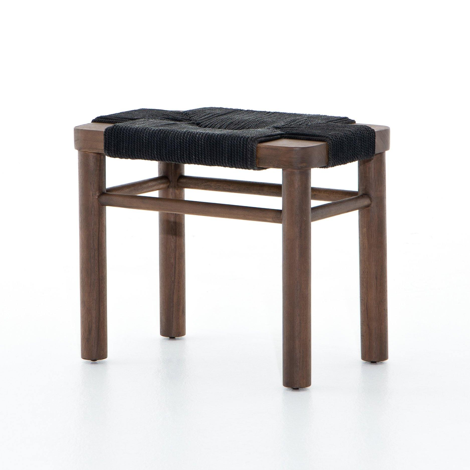 SHONA STOOL, BLACK - Reimagine Designs