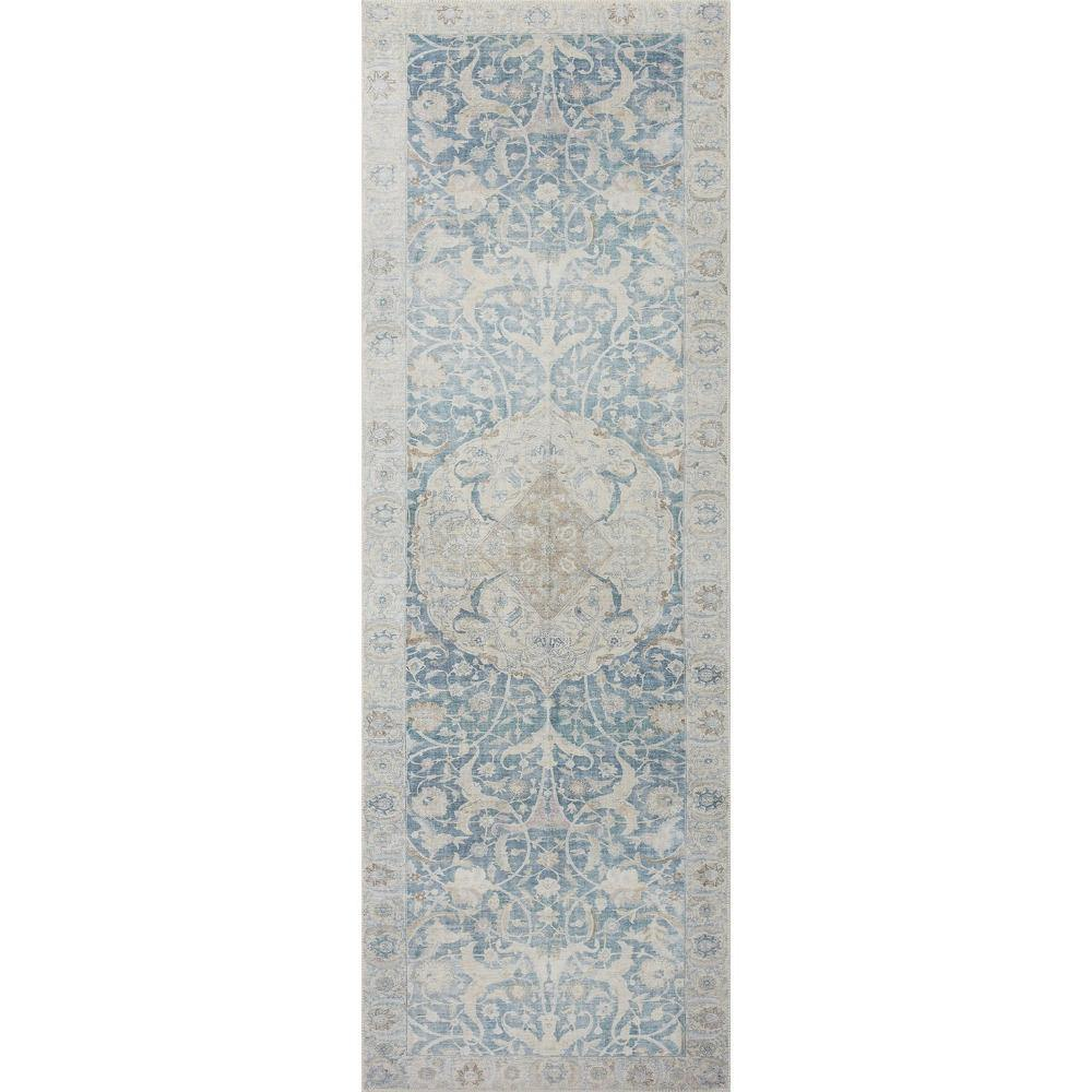Jules Antique / Sky Rug - Reimagine Designs