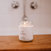 Coconut and Driftwood soy candle