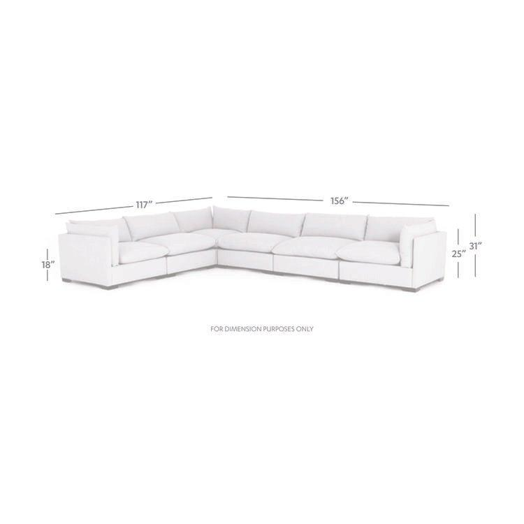Westwood 6-Piece Sectional - Bennett Moon