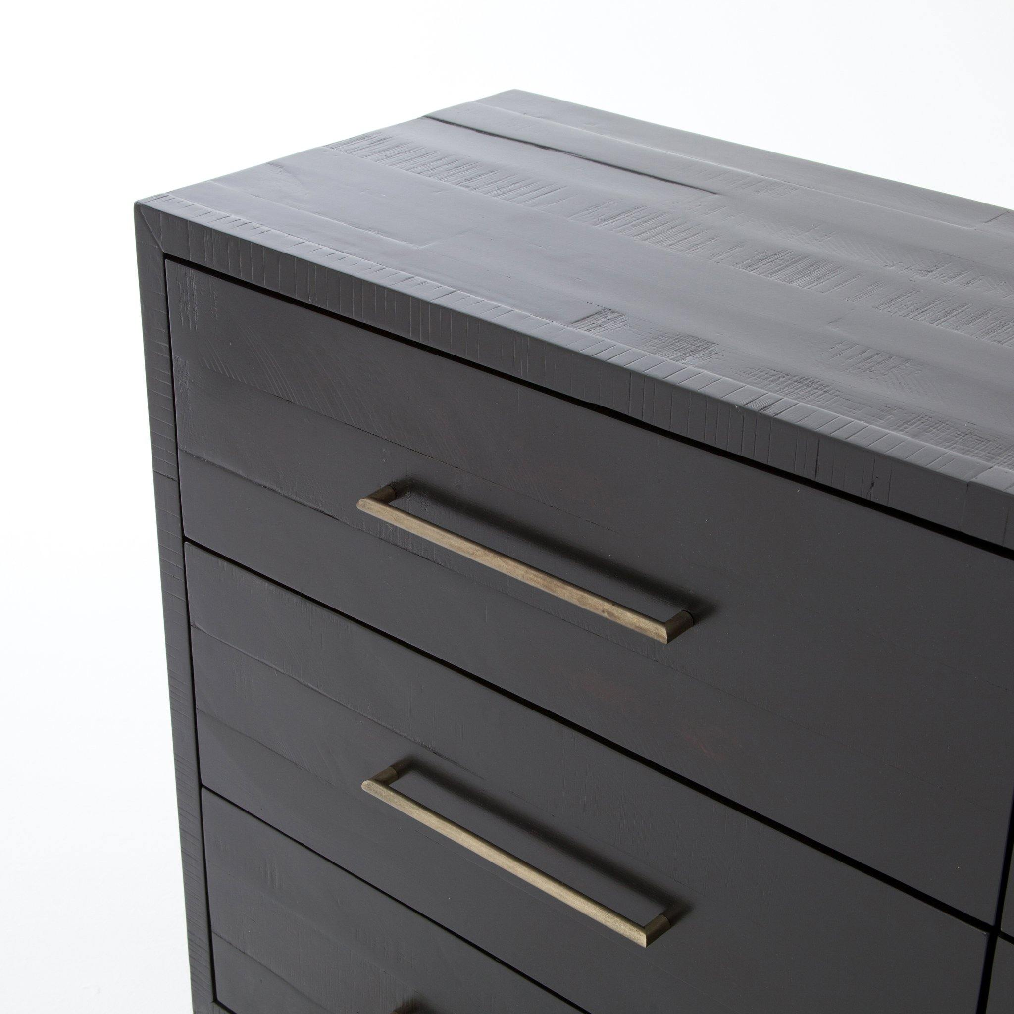 Suki 9 Drawer Dresser - Burnished Black - Reimagine Designs
