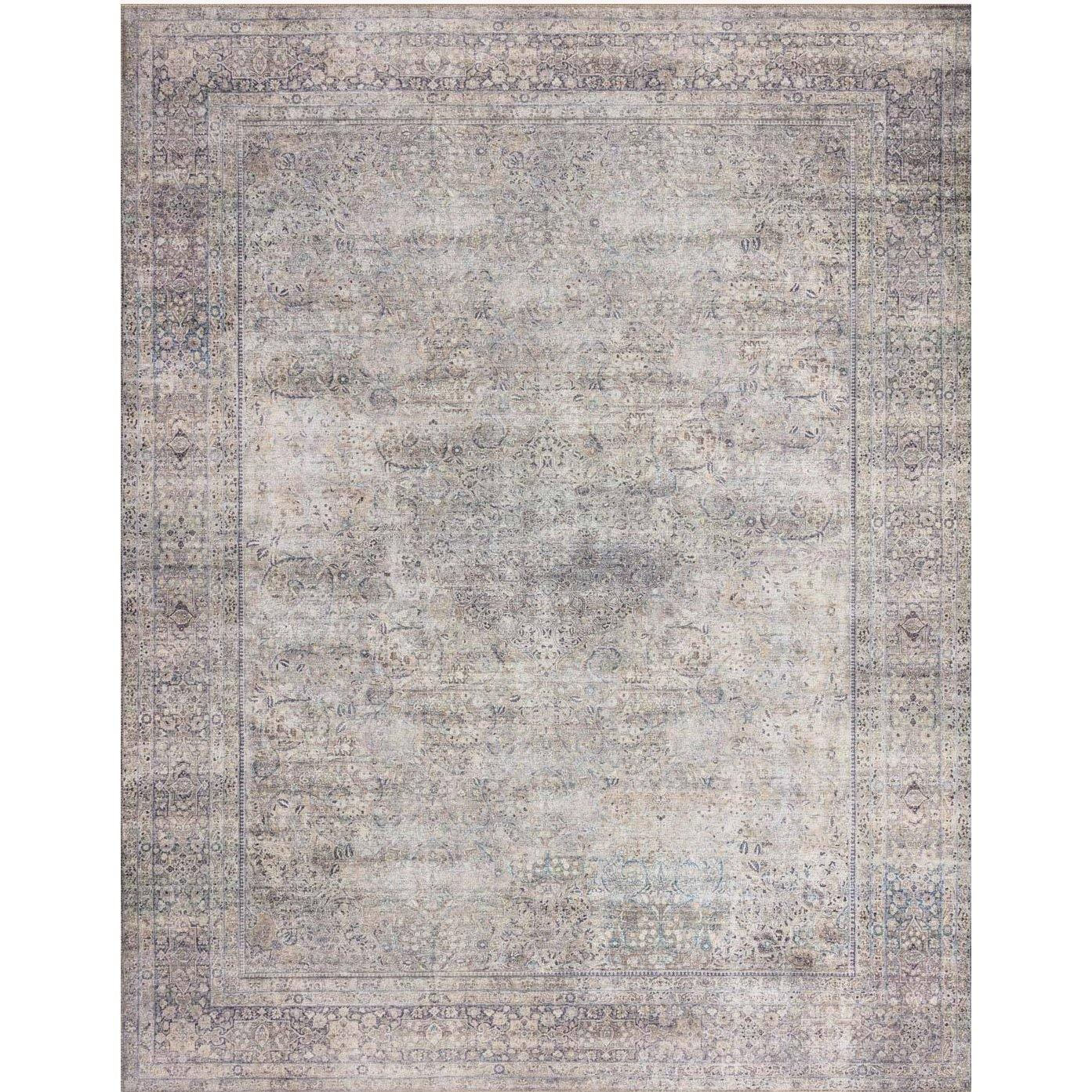 Wynter Silver / Charcoal Rug