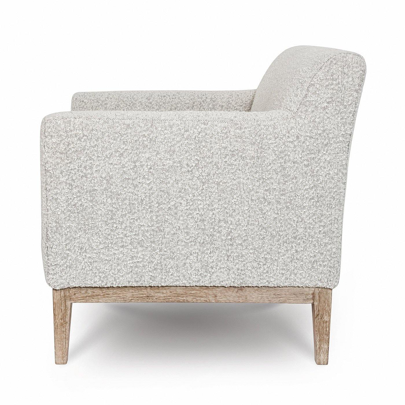 Ezra Chair – Grey Bouclé - Reimagine Designs