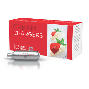 10 Pack ICO Cream Chargers