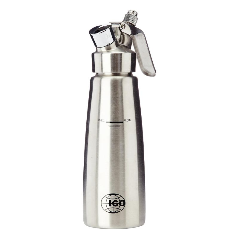 ICO Stainless Steel Cream Whipper - Two Sizes Avaliable