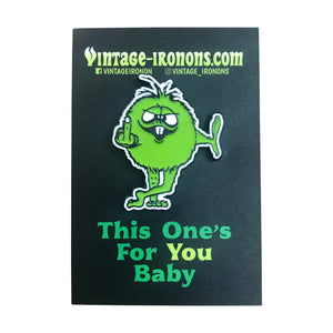 This One's For You Baby! Glow-in-the-Dark Enamel Pin
