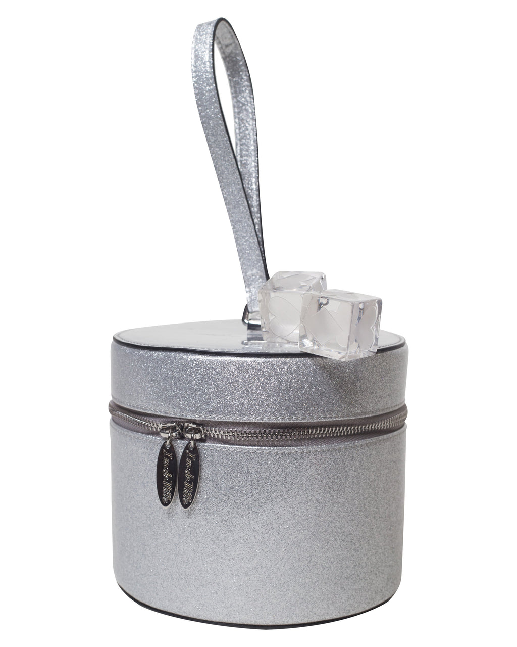 Mini Taylor Hat Box Silver Thunderstruck Sparkle