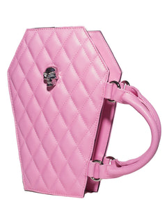 Elvira Coffin Mini Tote Matte Pink