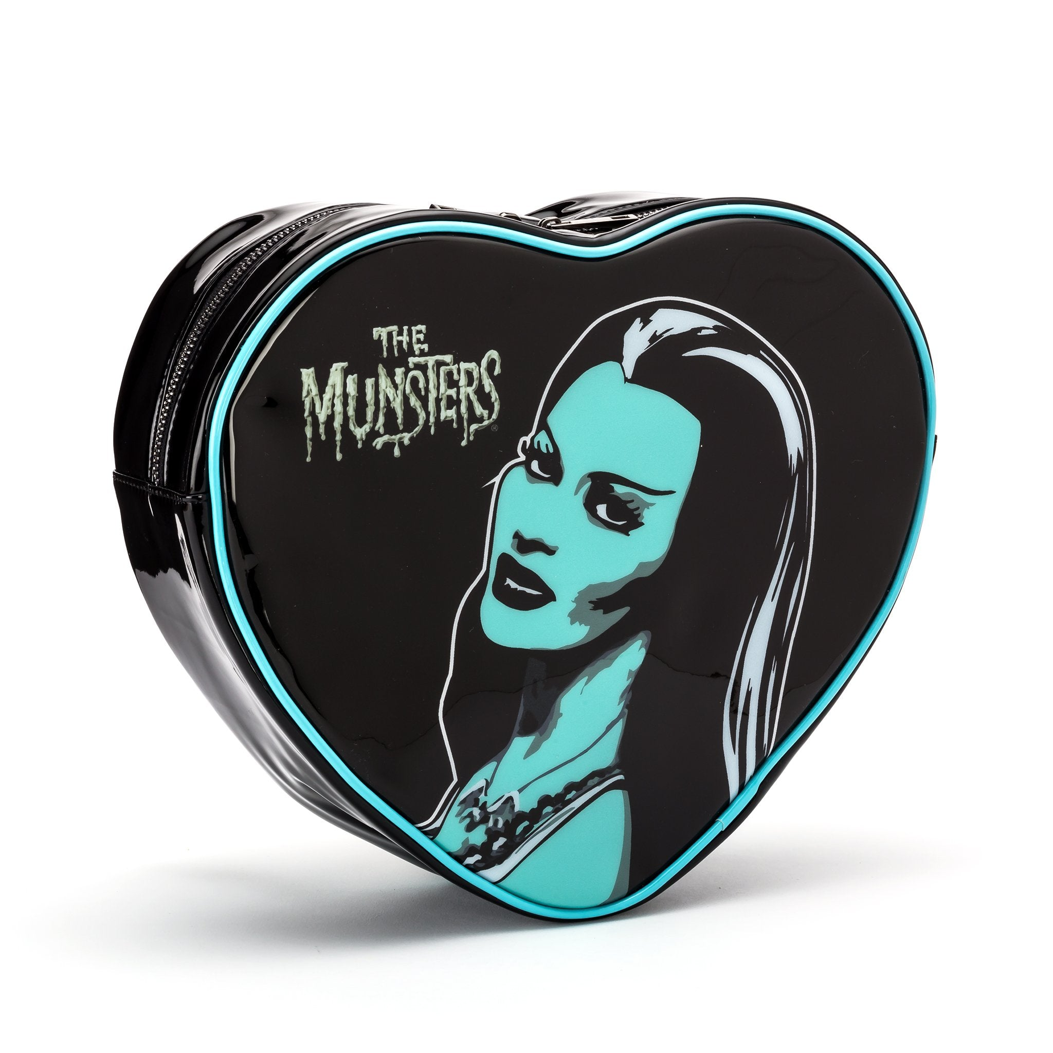 Lily Munster Mini Heart Shaped Backpack