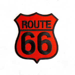 Red Route 66 Patch